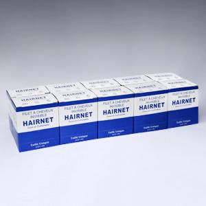 boites de 100 filets à cheveux